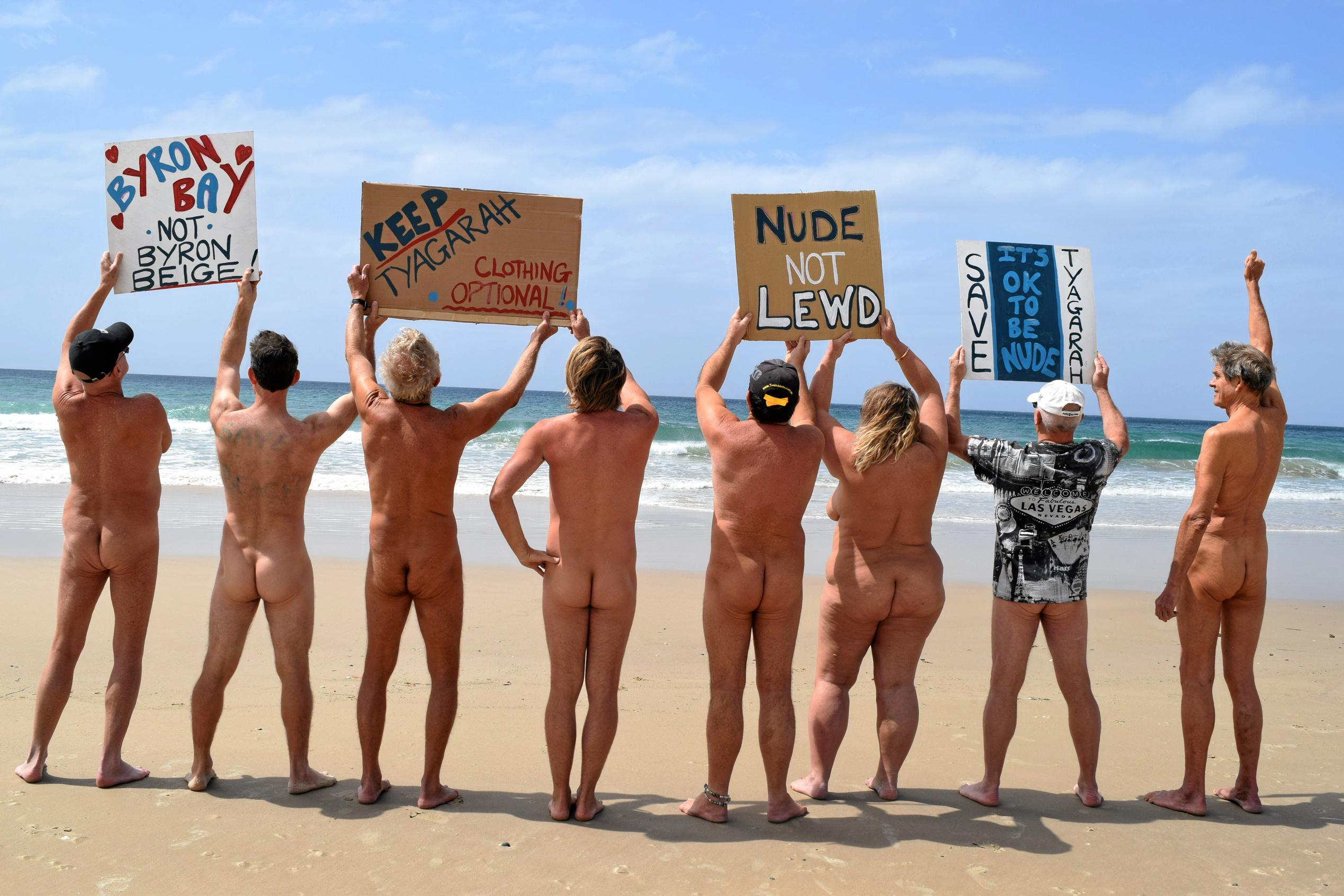 images of nudists