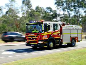 Firefighters tackling bushland blaze at East Mackay