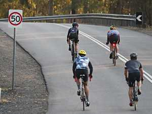 Reckless Queensland cyclists read the riot act