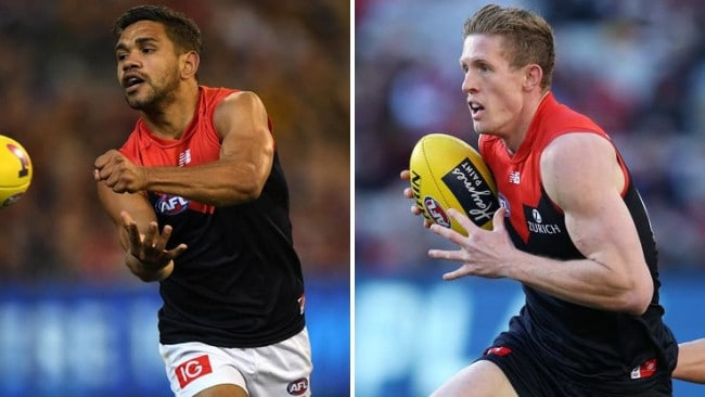 Neville Jetta and Sam Frost have formed part of the AFL's No.1 defence.