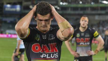 Nathan Cleary devastated after Friday's loss.