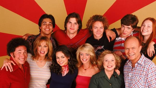 That 70s Show cast. Picture: Getty Images.