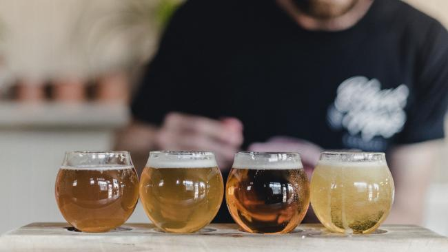 Black Hops Brewery have a selection of brews, and have apologised for using an obscene name for their newest beer. (Pic: Supplied)