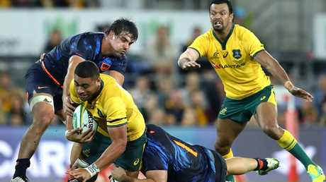 Lukhan Tui won't be playing Test rugby again this year. Picture: Getty.