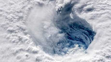 Typhoon Mangkhut is the strongest storm on the planet this year. Picture: NASA