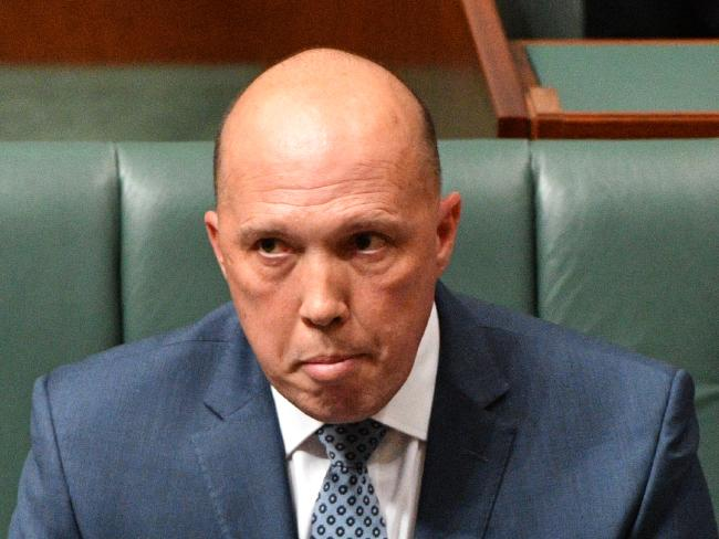 The CPSU said staffing cuts under Peter Dutton had added pressure to the Immigration Department. Picture: AAP/Mick Tsikas