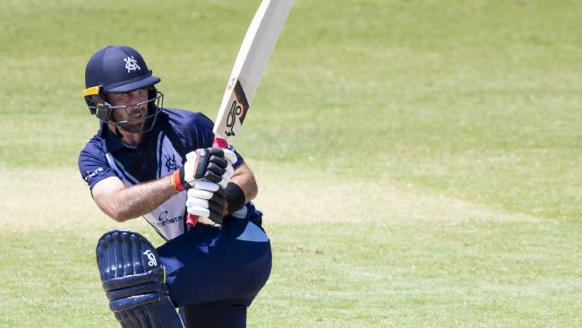 Glenn Maxwell made an impressive half-century against the Bulls. Picture: AAP