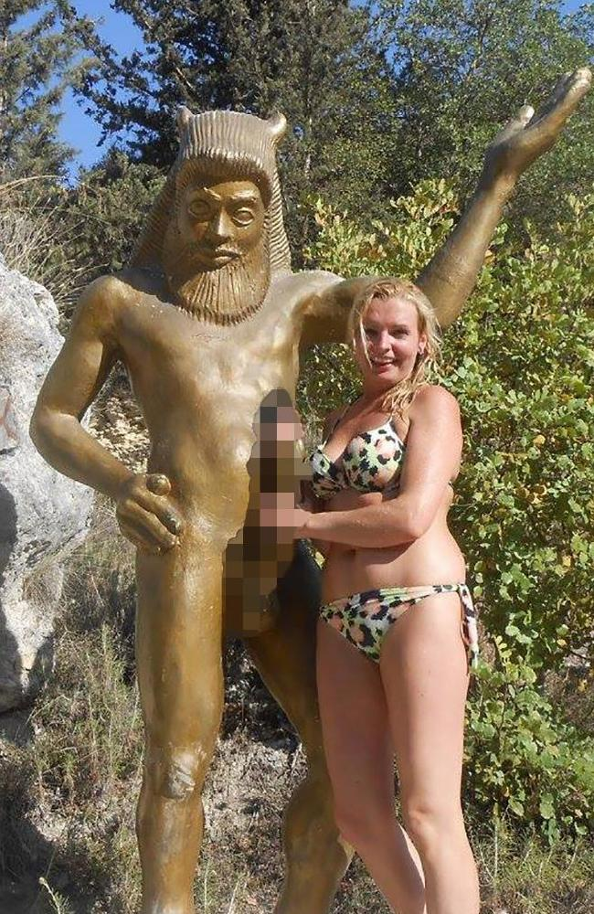 Sarah Bramley, 29, this week admitted to inciting the murder of her boyfriend by sending her jealous ex a sexually explicit photo with her new lover. Picture: Facebook