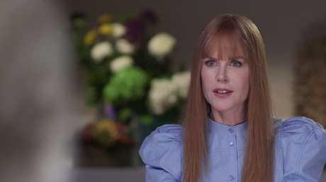 Nicole Kidman on 60 Minutes.