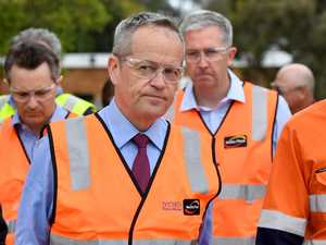 Shorten digs heels in to block Adani
