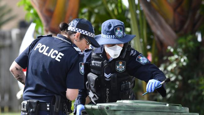 Police have released new figures on Queensland crime rates. Picture: AAP Image/Darren England