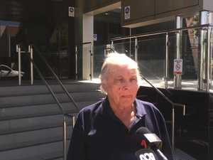 Laurie Simon speaks at son's inquest
