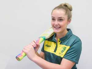 Amy Riddell is preparing to represent Australia and
