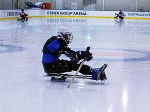 LISTEN: Cerebral palsy can't stop Gladstone ice hockey star
