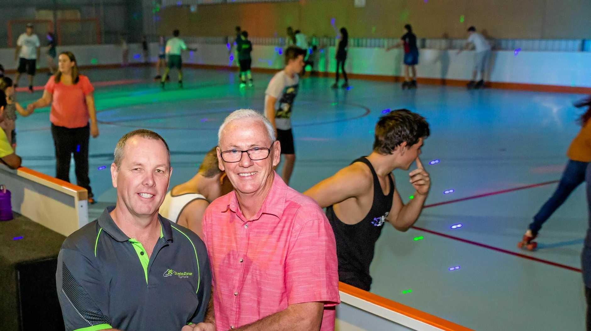 Skatezone, Darren Nyberg (New Owner/Manager), Allan James (Previous Manager Skateland)