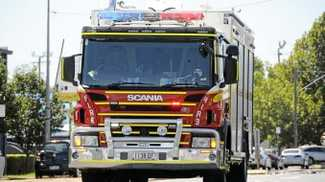 Smoking bin sparks fire alert in Cannonvale