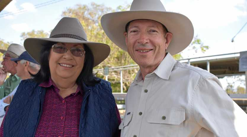 PRAYING FOR RAIN: Mount Larcom graziers Theresa and John Derrington are losing hope for any rain before the new year.