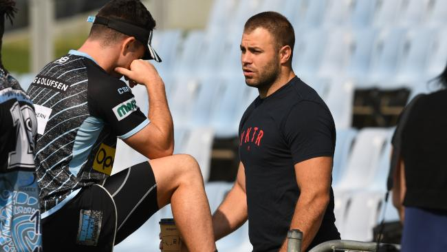 Wade Graham was stunned to hear of Valentine Holmes' exit. (AAP Image/Brendan Esposito)