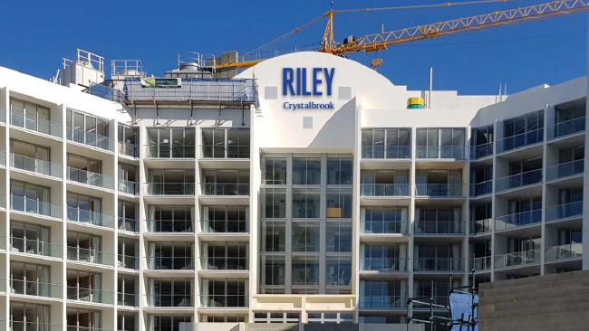 Crystalbrook Collection has applied for Cairns Regional Council approval to erect the Riley signage on its new $130 million redevelopment of the former Tradewinds Hotel on Abbott St. PICTURE: SUPPLIED