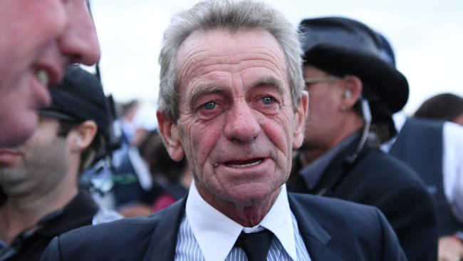 Trainer Gerald Ryan. Picture: AAP