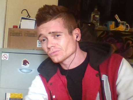 Jesse Kermode, 24, was shot dead when he lunged at police with a knife at Ipswich train station. Picture: Facebook