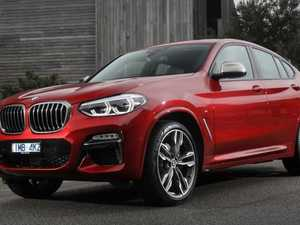 BMW X4 is larger yet still lithe in trademark coupe styling