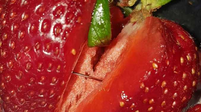 Needles found in strawberries stir food-contamination fears across Australia