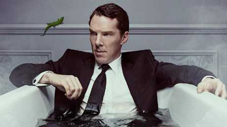 Patrick's life might be in shambles but Benedict Cumberbatch remains in full control of the chaos.