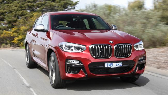 2018 BMW X4: From $77K — brand has added the M Sport pack as standard