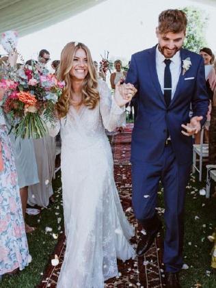 Natalia Cooper on her wedding day.