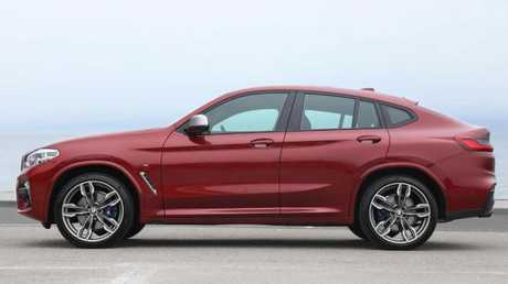 Photo of the 2018 BMW X4