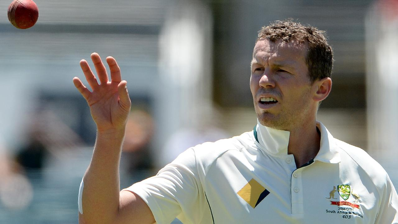Peter Siddle was a surprise pick in Australia's Test squad against Pakistan.