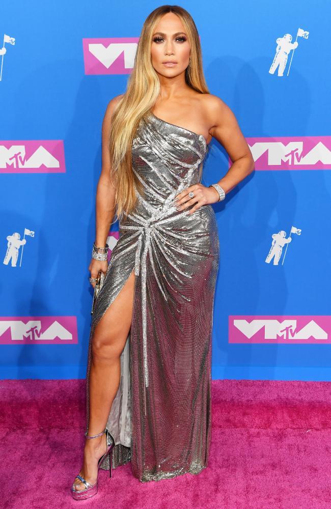 Last month J Lo stole the show at the VMAs. Picture: Nicholas Hunt