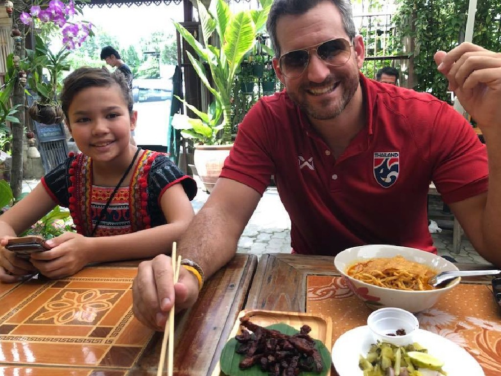 Aussie teacher and dad-of-two Matthew Smith has lived in Thailand since 2007.