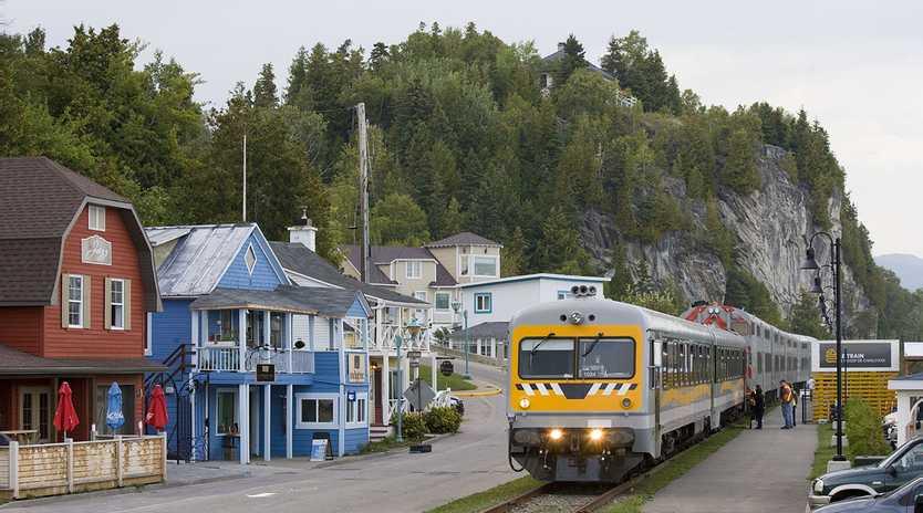 Canada's Train de Charlevoix.