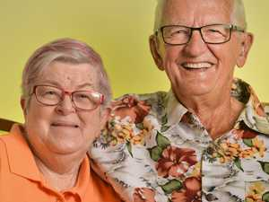 Des and Gloria Whelband celebrate their 60th wedding