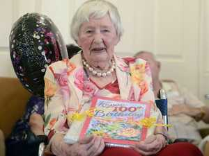 Ella 'Lin' McSwan celebrated her 100th birthday in