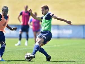 SOCCER: Training camp for Melbourne Victory at