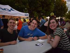 Georgia Day, John Van Osta and Chays Oyston.