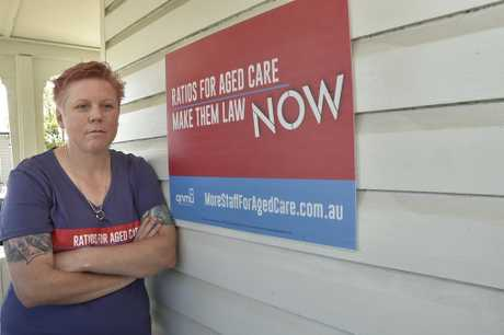 Union member Melynda McArthur was glad to hear the Federal Government had announced a Royal Commission into aged care. September 2018