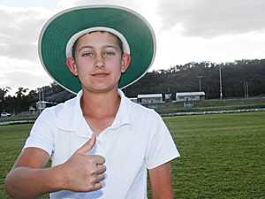 NEW KID ON THE BLOCK: 12-year-old Stanthorpe
