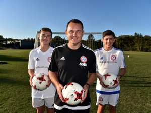 Football coach Mitch Cattermole has been selected to