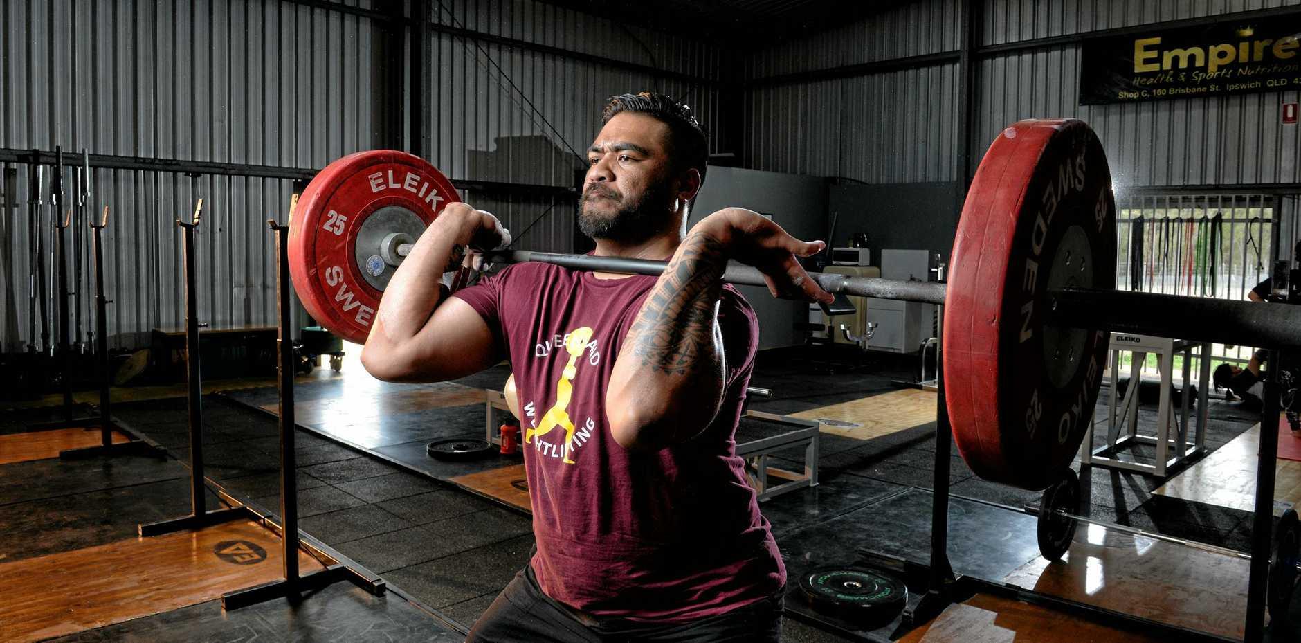 Jax Solofa  is the Australian Weightlifting Federation senior champion.