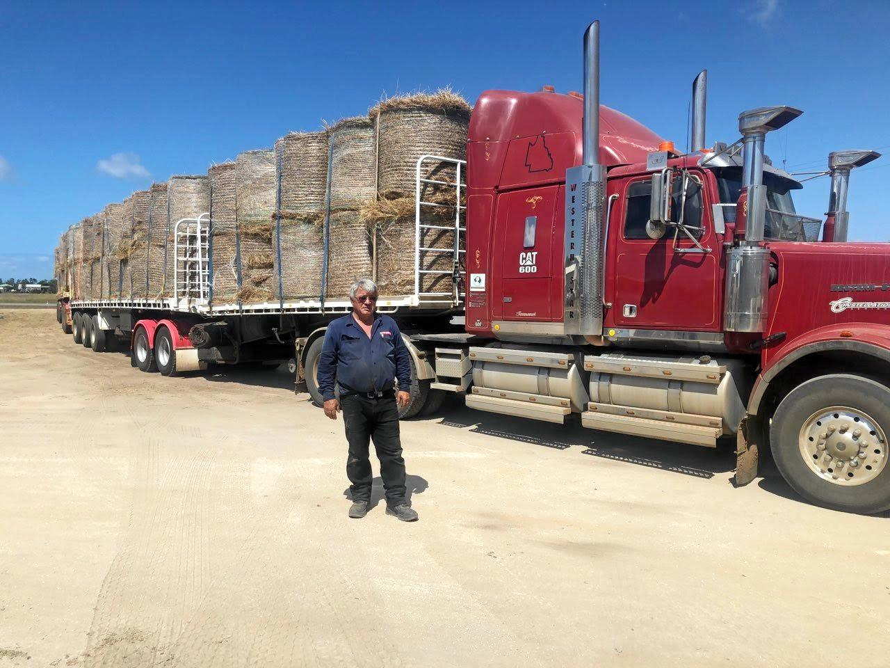 UNDETERRED: Peter Lewis was back on the road helping farmers just days after the $10,000 penalty.