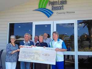 No dry in generosity at Palm Lake Resort