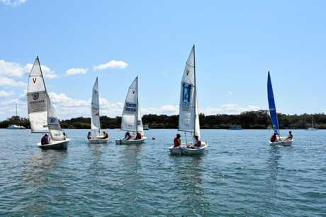LET'S GO: Sailability Regatta for the disabled was held on Noosa River.