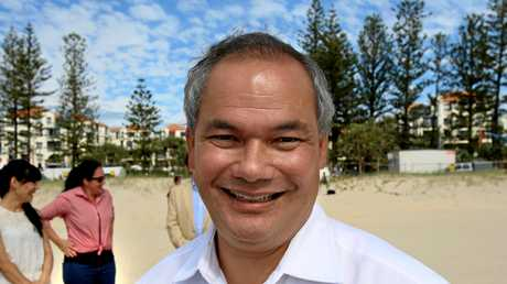 Gold Coast Mayor Tom Tate is the subject of a CCC investigation. Photo: Nolan Verheij-Full / Daily News
