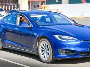 Sylvia Wilson's Tesla