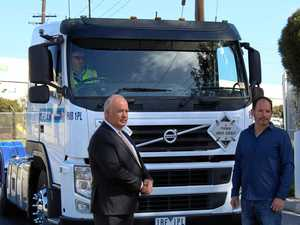 Truck rivals unite for radical plan
