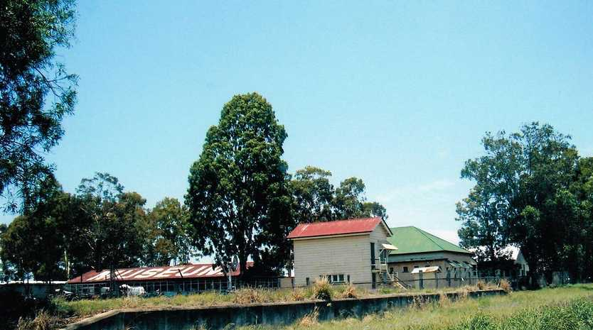 MEMORIES OF YESTERYEAR: The Chinchilla railway cattle ramp.